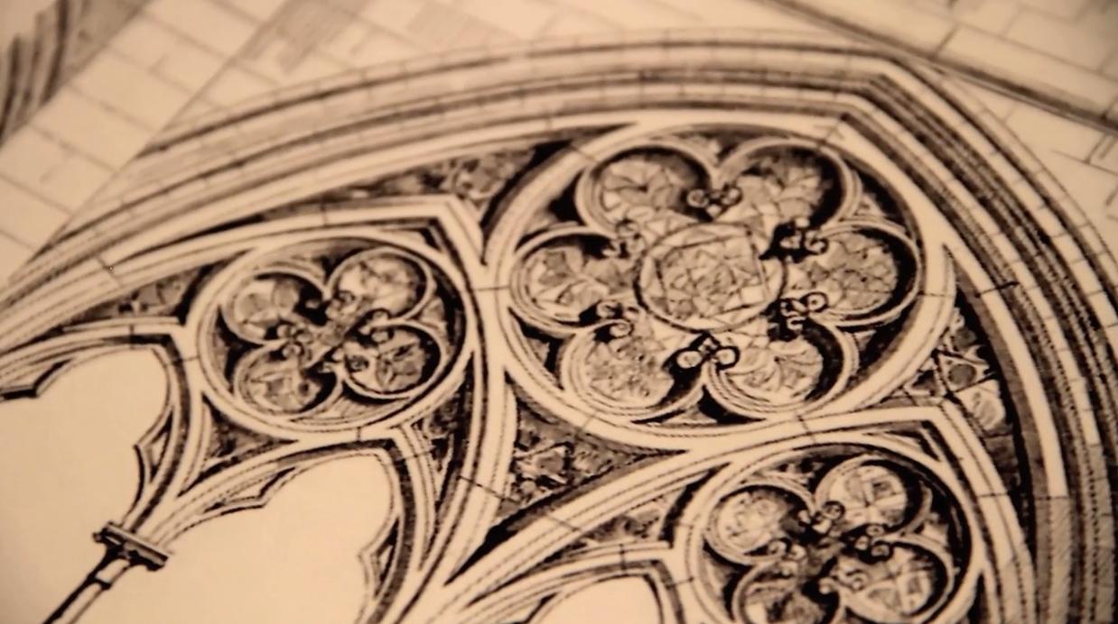 christophe Lainé, inspiration architecture gothique